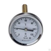 Биметаллический термометр осевой ТБ-63 (рк)